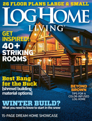 Log & Timber Homes Jan-Feb 2016
