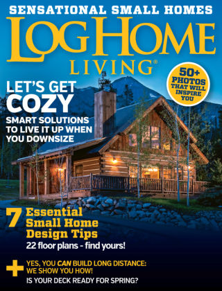 Log Home Living Apr 2016