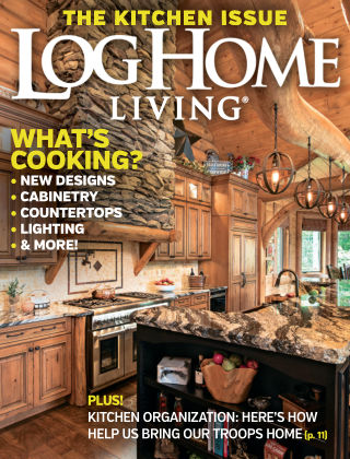 Log Home Living May 2016