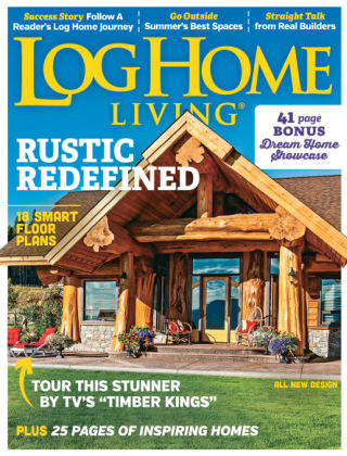 Log Home Living Jun-Jul 2016