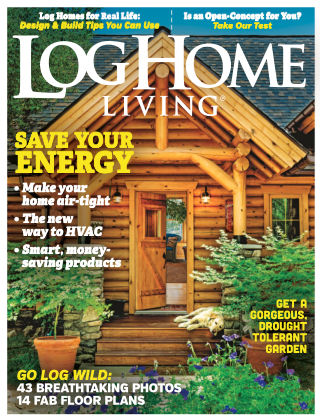 Log Home Living Aug 2016