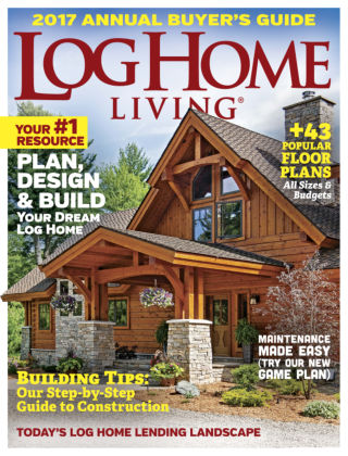 Log Home Living Oct 2016