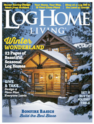 Log Home Living Nov-Dec 2016
