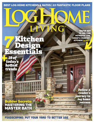 Log Home Living May 2017