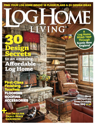Log Home Living Aug 2017