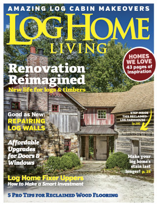 Log Home Living Sep 2017