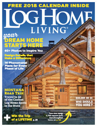 Log Home Living Nov-Dec 2017
