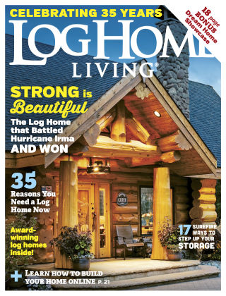 Log & Timber Homes Jan-Feb 2018