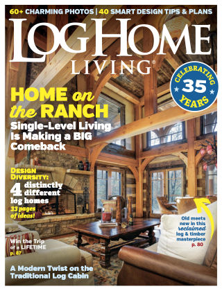 Log Home Living Mar 2018