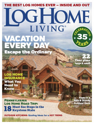 Log Home Living Apr-May 2018
