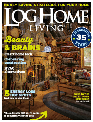 Log Home Living Aug 2018
