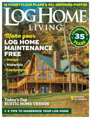 Log Home Living Sep 2018