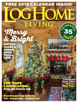 Log Home Living Dec 2018