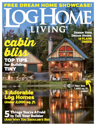 Log Home Living Jan-Feb 2019