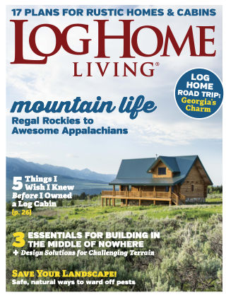 Log & Timber Homes Apr-May 2019