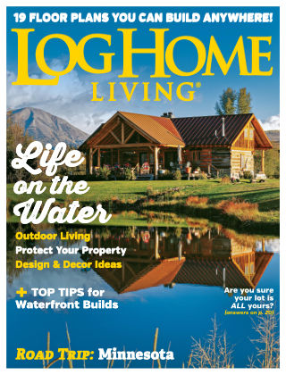 Log Home Living Aug 2019