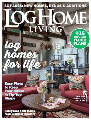 Log Home Living Sep 2019