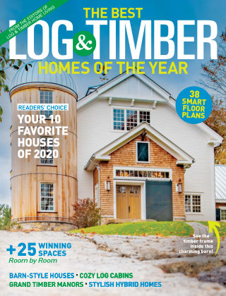 Log & Timber Homes Best of 2020