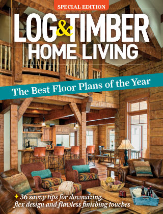 Log & Timber Homes Floor Plans Special
