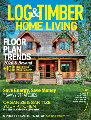 Log & Timber Homes August 2020