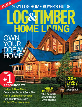 Log & Timber Homes Log ABG 2021