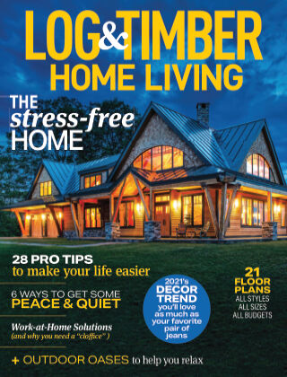 Log & Timber Homes March 2021