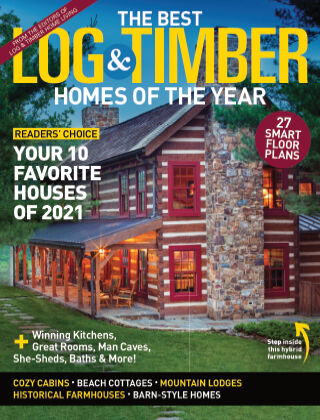 Log & Timber Homes June/July 2021