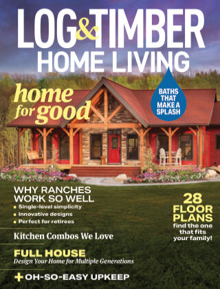 Log & Timber Homes August 2021
