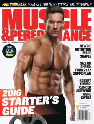 Muscle & Performance Jan 2016