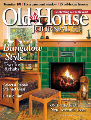 Old-House Journal Feb / March 2013