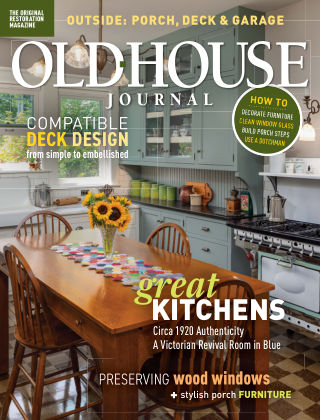 Old-House Journal July August 2020