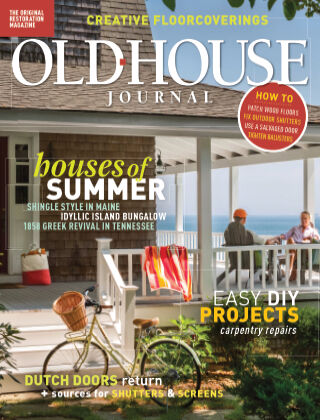 Old-House Journal July August 2021