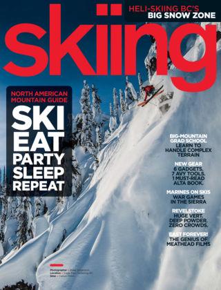 Skiing November 2013