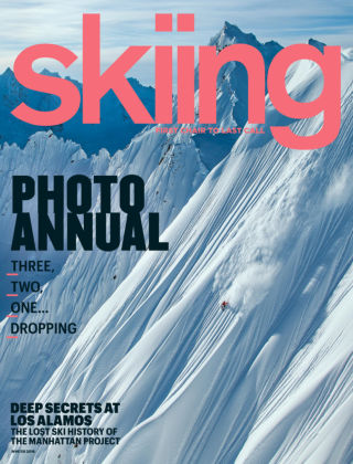 Skiing Winter 2016