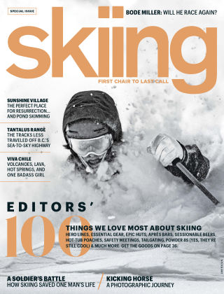 Skiing Winter 2017