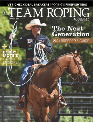 The Team Roping Journal March 2021