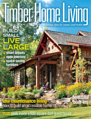 Timber Home Living April 2013
