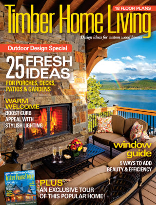 Timber Home Living July / August 2014