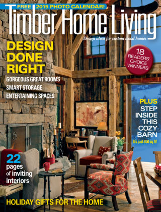 Timber Home Living Nov / Dec 2014