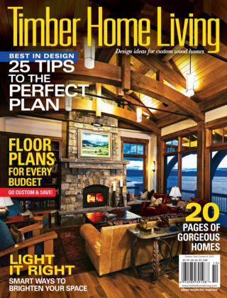 Timber Home Living Sept / Oct 2015