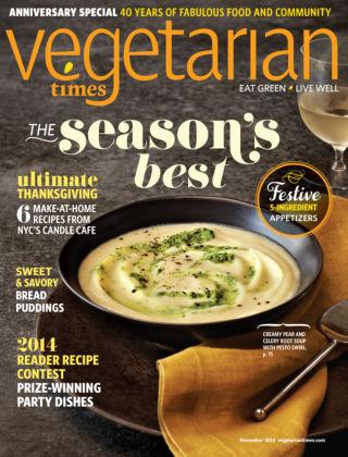 Vegetarian Times November 2014