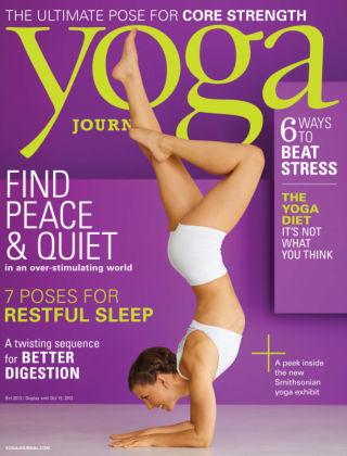 Yoga Journal October 2013