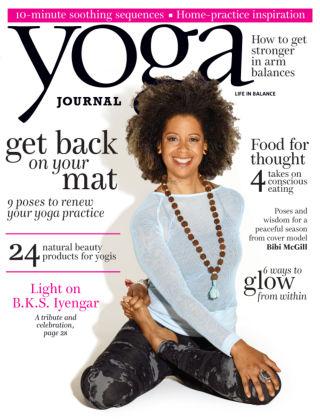 Yoga Journal November 2014