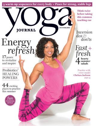 Yoga Journal June 2015