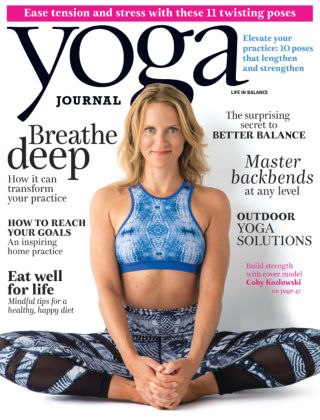 Yoga Journal July / August 2015