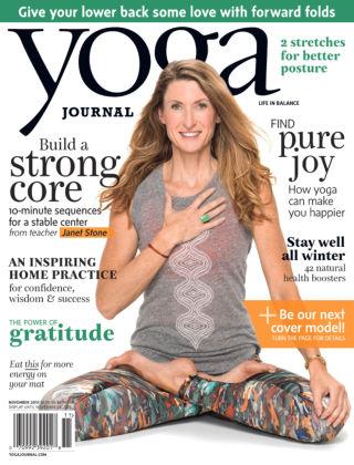 Yoga Journal November 2015