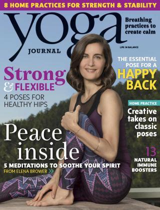Yoga Journal Oct 2016