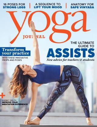 Yoga Journal May 2018