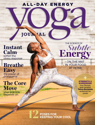 Yoga Journal July August 2020
