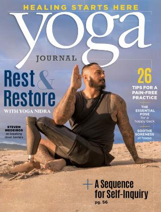 Yoga Journal Sept Oct 2020